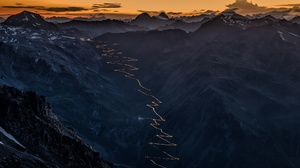 Italy Landscape Nature Road Sky Sunset 1920x1080 Wallpaper
