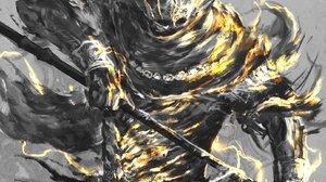Fantasy Art Illustration Video Game Art Dark Souls Nameless King Artwork Dark Souls Iii 1615x2048 Wallpaper