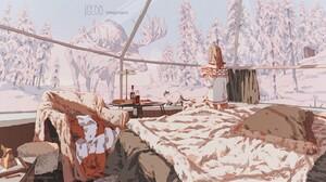 Anime Winter 1920x1080 Wallpaper