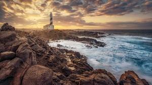 Man Made Lighthouse 2500x1667 Wallpaper