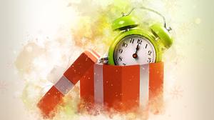 Clock New Year 5000x3750 Wallpaper