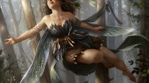 Fairy Girl Wings Woman 1920x1454 Wallpaper