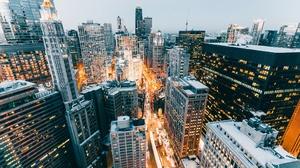 Building Chicago City Skyscraper Usa 2048x1365 wallpaper