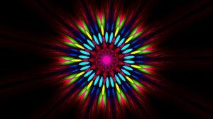 Artistic Colorful Colors Digital Art Kaleidoscope Red 1920x1276 Wallpaper