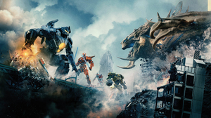 Pacific Rim Uprising Robot Movie Scenes Movies Creature 3840x2160 Wallpaper