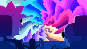 Morty Smith Rainbow Rick Sanchez Run The Jewels 8000x4500 Wallpaper