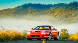Car Coupe Ferrari 575m Maranello Red Car Sport Car 2048x1152 Wallpaper