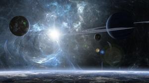Planet Space 3840x2160 Wallpaper