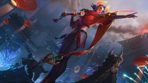 Fiora League Of Legends League Of Legends Riot Games 7680x4320 Wallpaper