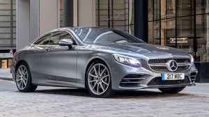 Car Coupe Full Size Car Luxury Car Mercedes Benz S560 Silver Car 1920x1080 wallpaper