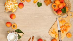 Apricot Fruit Still Life 7360x4912 Wallpaper