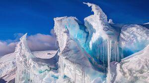 Ice Iceberg Nature Sky North Pole 3840x2160 Wallpaper