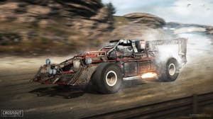 Car Crossout Video Game Vehicle 1920x1080 Wallpaper
