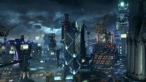 Batman Arkham Knight Arkham City Video Games Screen Shot 1920x1080 Wallpaper