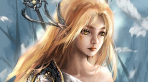 Fantasy Women Warrior 7000x5600 Wallpaper