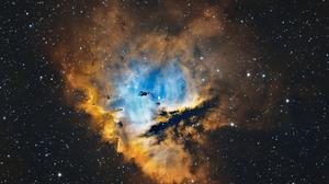 Nebula Space Stars Space Art Digital Art 1920x1080 Wallpaper