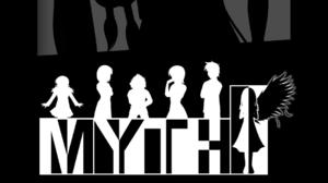 Visual Novel MYTH Visual Novel Dark Background Portrait Display Monochrome 1080x2220 Wallpaper