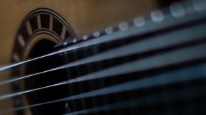 Guitar Musical Instrument Closeup 1920x1080 Wallpaper