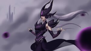 League Of Legends Syndra League Of Legends Syndra Imanol Pagola 2048x1212 wallpaper