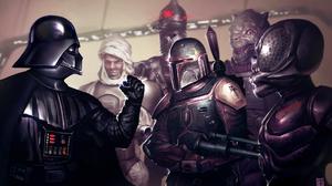 Boba Fett Bossk Star Wars Bounty Hunter Darth Vader 1920x1200 Wallpaper