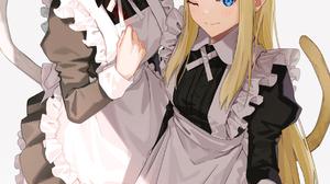 Lord El Melloi Ii Sei No Jikenbo Rail Zeppelin Grace Note FGO Fate Series Maid Outfit Alternate Outf 1193x1800 Wallpaper