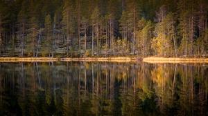 Lake Nature Reflection 2048x1152 wallpaper