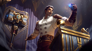 Jayce Jayce League Of Legends Arcane League Of Legends Riot Games 4K GZG Digital Art 7680x4320 wallpaper