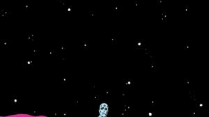 Dark Stars Alone Sitting Planet Artwork Watchmen Dr Manhattan Portrait Display 1189x2116 Wallpaper