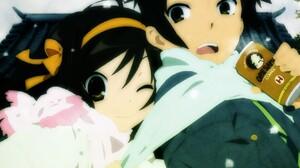Anime The Melancholy Of Haruhi Suzumiya Anime Girls Can Dark Hair 1680x1050 Wallpaper