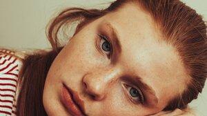 Daria Milky Women Redhead Blue Eyes 1000x1500 wallpaper