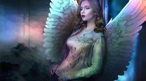Angel Photo Manipulation Character Design Fantasy Art Poster Artwork Conceptual Photo Montage Fantas 1280x853 Wallpaper