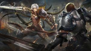 Battle Lineage Sword Warrior 3840x1896 Wallpaper
