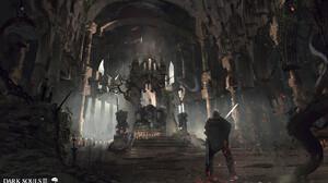 Dark Souls Knight Monster Sword 1920x1152 Wallpaper