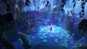 Fantasy Art Artwork Video Game Art The Legend Of Zelda The Legend Of Zelda Breath Of The Wild Zelda 1300x855 Wallpaper