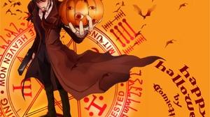 Anime Hellsing 1366x1093 wallpaper