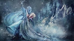 Anna Frozen Elsa Frozen Frozen Movie Snow 2000x1295 Wallpaper