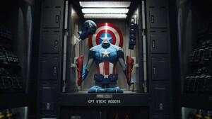 Captain America Marvel Comics Avengers Steve Rogers 2048x1152 Wallpaper