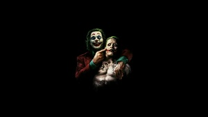 Joker Batman Joaquin Phoenix Jared Leto DC Comics Villain Villains 2560x1440 Wallpaper