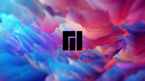 Manjaro Minimalism Abstract Linux Arch Linux Colorful Paint Splash Paint Brushes 1920x1080 Wallpaper
