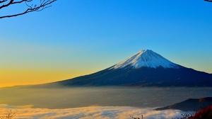 Cloud Japan Mount Fuji Mountain Peak Sky Volcano 2560x1440 Wallpaper