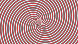 Abstract Artistic Digital Art Kaleidoscope Optical Illusion Red Spiral White 1920x1080 Wallpaper