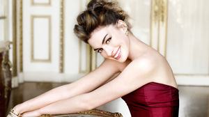 Actress American Anne Hathaway Smile 3840x2160 Wallpaper