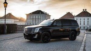 Black Car Cadillac Cadillac Escalade Car Luxury Car Suv Vehicle 4096x2731 Wallpaper