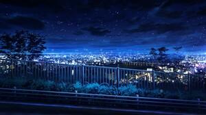Cityscape Night 1920x1080 wallpaper