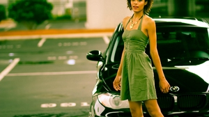 Car Bmw Model Girl 2560x1706 Wallpaper