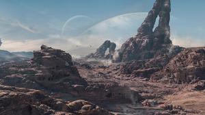 Sci Fi Landscape 2160x1080 Wallpaper