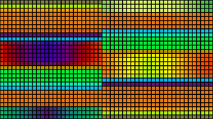 Colorful Geometry Shapes 1920x1080 wallpaper