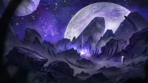 Planet Beam 2160x1080 Wallpaper