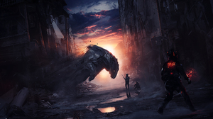 City Man Sci Fi 1900x1151 Wallpaper