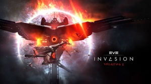 Eve Online Invasion Space Space Station Spaceship 2560x1440 wallpaper